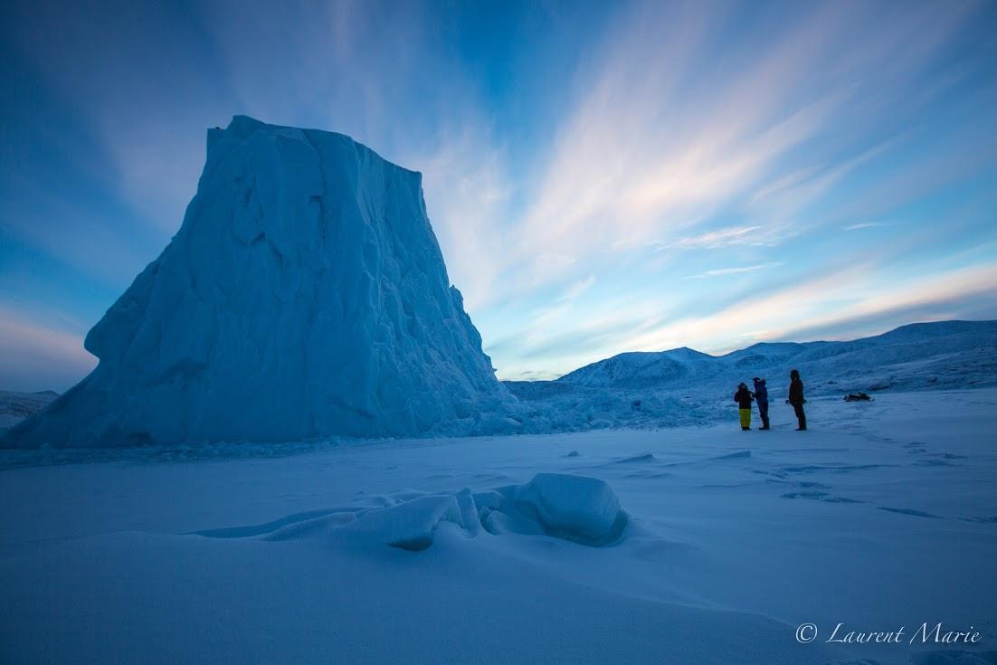 Laurent Marie en Arctique