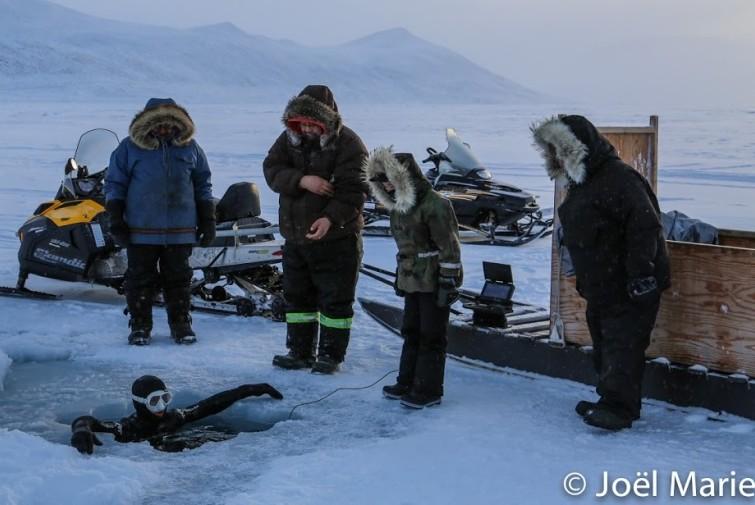 Laurent Marie et les Inuits